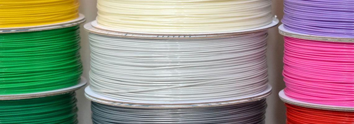Filaments en plastique pour imrpimantes 3D